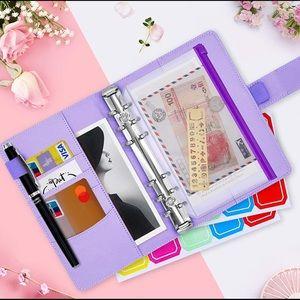 Budget Binder Cash Envelope Budget Planner Purple